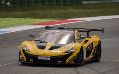 Mc Laren P1 GTR circuit