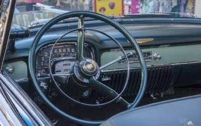 Cadillac Convertible Coupe Automaat Bj 1952 dashboard